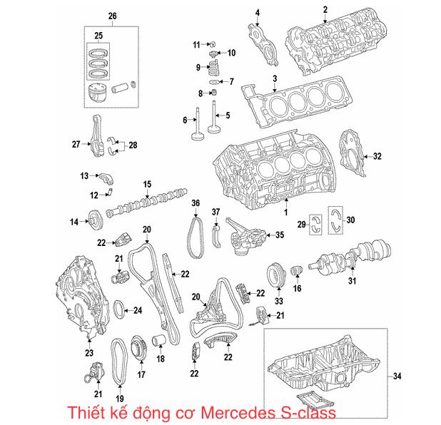 Nẹp crom ốp hướng gió BDX Mercedes W213 (SD) 5