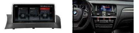 Màn hình DVD độ cho xe BMW X3 F25(2011-2013) Original CIC System 1