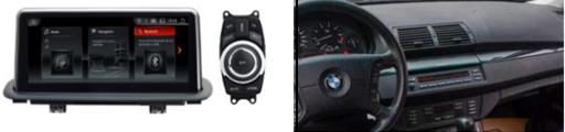 """Màn hình DVD độ cho xe BMW X5 E53 (1998-2006) Fit for car with original screen 6.5""""/4.3"""",iDriver button included 1"""