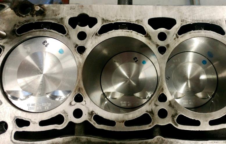 Động cơ AudiQ5 sau khi xử lý hao dầu